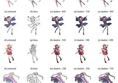 手描きキャラクターに深層学習で影 カラーでも - ITmedia NEWS