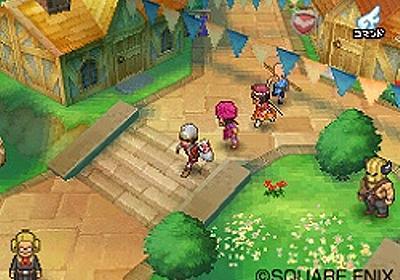 「ドラゴンクエストIX 星空の守り人」,町やフィールドの最新画像を公開 - 4Gamer.net