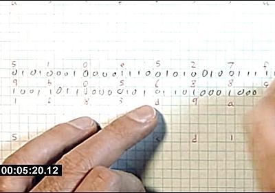 手動SHA-256、紙とペンでBitcoinのマイニング作業をやるとこうなる……という動画 - DNA