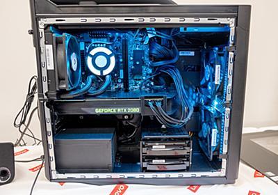 レノボ、Core i9 9900KとRTX2080搭載のゲーミングPC「Legion T730/C730」 - PHILE WEB