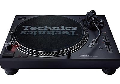 Technics、DJターンテーブル11年振りの新機種。「SL-1200MK7」約9万円 - AV Watch