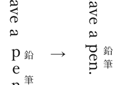 縦組み表示での文字組みの仕様を変更しました - カクヨムからのお知らせ