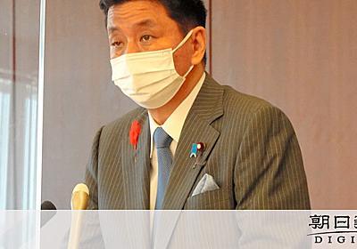 岸防衛相、インフルエンサー接触計画認める 省内外から批判の声:朝日新聞デジタル