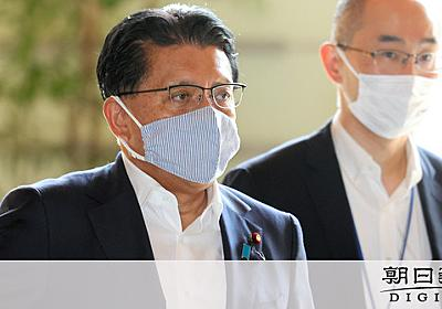 平井改革相の「脅して」発言は定例会議で 数十人が参加 - 東京オリンピック:朝日新聞デジタル