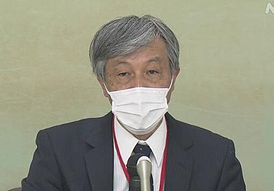 勤務医で作る労働組合 五輪・パラの中止求める要請書 国に提出 | 新型コロナウイルス | NHKニュース