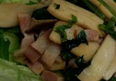 きのこのあったかサラダ by みいぼん 【クックパッド】 簡単おいしいみんなのレシピが296万品