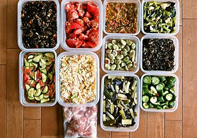 週末の作り置きレシピ   常備菜の作り置きで、毎日のおかずもお弁当も、ラクにおいしくヘルシーに。