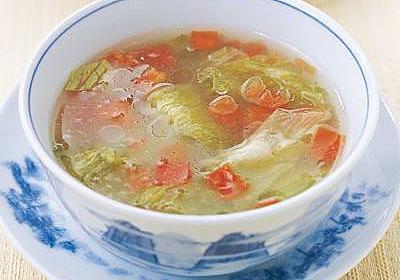 レタスとトマトのスープ レシピ 程 一彦 さん|【みんなのきょうの料理】おいしいレシピや献立を探そう