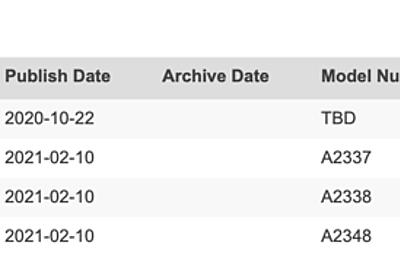 Bluetooth SIGのデータベースに謎のApple製品 - こぼねみ