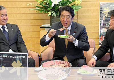 首相はジャーキー食べても「ジューシー」 あの人が指南:朝日新聞デジタル