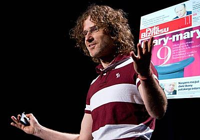 ジャチェック・ウツコは問う「デザインは新聞を救えるか?」 | TED Talk