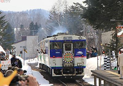 市自ら選んだ「攻めの鉄道廃止」 JR石勝線夕張支線、代替バスはどう「進化」したのか | 乗りものニュース