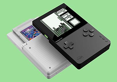 """""""携帯型音楽制作マシン""""としても使える携帯型ゲーム機、Analogue「Pocket」が発表…… あのNanoloopを標準搭載 - ICON"""