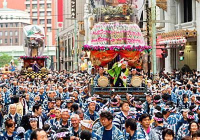 遷座400年の神田祭 アニメと初コラボ、グッズに行列:朝日新聞デジタル
