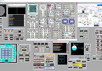 発電所用訓練シミュレーターを製作する会社が作った、チェルノブイリ原発シミュレーターのクオリティーが高い - Togetter