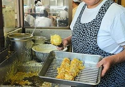 高松に行ってうどんを食べた時に驚いたのは、卵の天ぷら (´・ω・`):お料理速報
