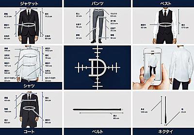 紳士服のコナカ、採寸アプリに本腰 服を着たまま写真4枚でスーツを提案 - ITmedia NEWS