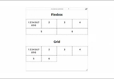 CSS Gridが適しているレイアウト、Flexboxが適してるレイアウトを詳しく解説 | コリス