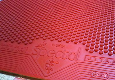 衝撃:表ソフトの厚を使ってみて(TSP スペクトル 厚)   卓球はじめました