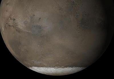 火星の地下に複数の湖が存在か、幅20キロに広がる毒性の水 | ナショナルジオグラフィック日本版サイト