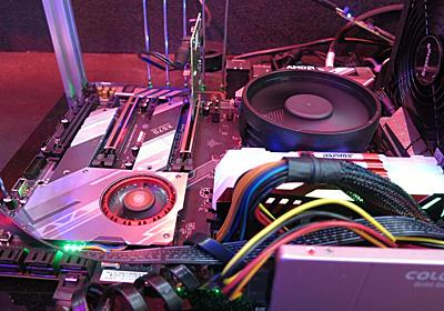 【イベントレポート】AMD未発表のAPU「Ryzen 5 3400G」がライブ展示、ベンチでCPU性能向上を確認 - PC Watch