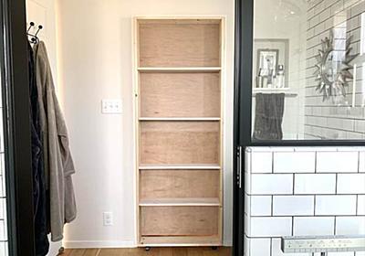 ランドリールームを隠し部屋にする秘密のドアをDIY〜ドア問題解決編〜 - 北欧ミッドセンチュリーの家づくり