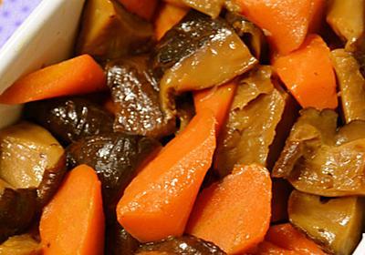 干しいたけと人参の煮物 by ❀あおい❀ 【クックパッド】 簡単おいしいみんなのレシピが308万品