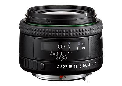 フルサイズ対応の広角単焦点レンズ「HD PENTAX-FA35mmF2」 - デジカメ Watch