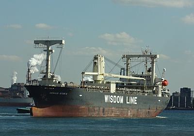 Wisdom Marineの貨物船GENIUS STAR X - SHIPS OF THE PORT