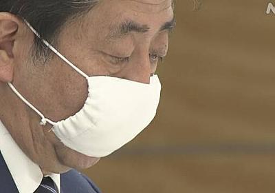 1住所当たり2枚の布マスクを配布の方針 安倍首相 | NHKニュース