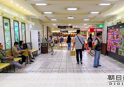 イートイン防止でベンチ撤去 福岡の百貨店のデパ地下:朝日新聞デジタル