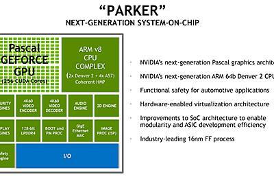 【後藤弘茂のWeekly海外ニュース】Hot ChipsにNVIDIAの次世代Tegra「Parker」などが登場  - PC Watch