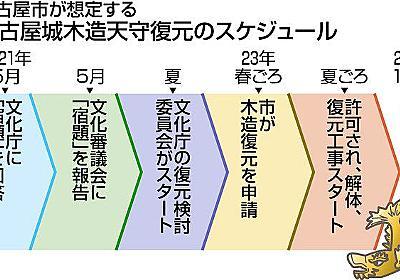 名古屋城の追加調査結果を提出 名古屋市が文化庁へ:中日新聞Web
