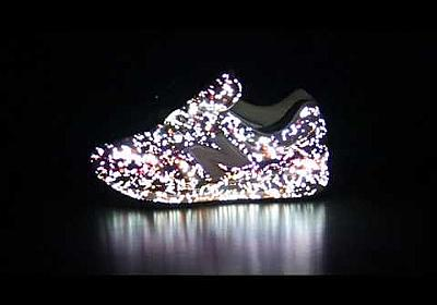 YouTube - New balance sneaker Projection mapping_01