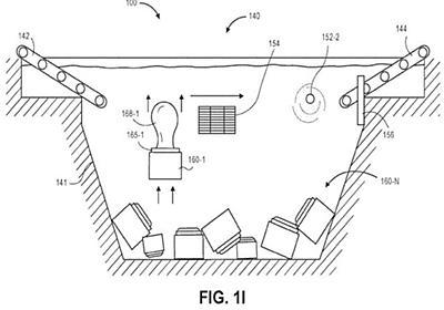 アマゾン、荷物を「水中倉庫」で保管するアイデアで特許を取得 - CNET Japan