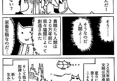 なぜ人間は猫を家畜化できたのか - orangestarの雑記