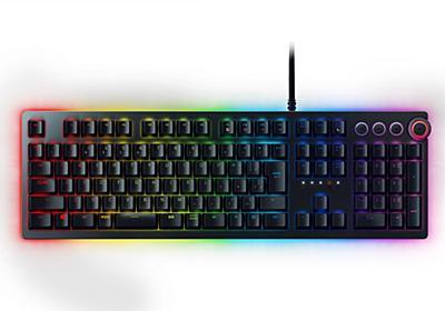 Razer、光で押下検出する新スイッチ採用ゲーミングキーボード「Huntsman」を国内投入 - PC Watch