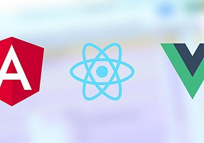 Vue・React・Angularのパフォーマンス比較検証 - ICS MEDIA