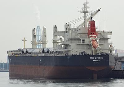 ハンディマックスバルカーTTM DRAGON - SHIPS OF THE PORT
