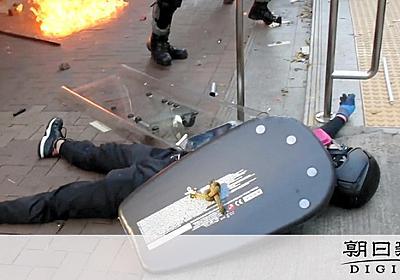 「記者がいなければ死んでいた」 香港デモで被弾の学生:朝日新聞デジタル