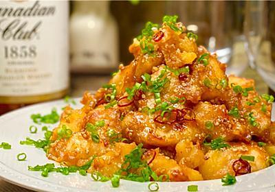 【レシピ】がっつり大満足♬鶏肉とじゃがいものピリ辛ゴマ味噌炒め♬ - しにゃごはん blog