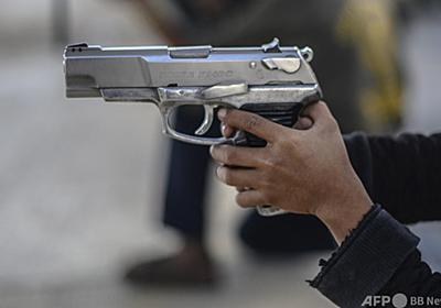 2歳男児、自分の頭撃ち死亡 米テキサス州 写真1枚 国際ニュース:AFPBB News