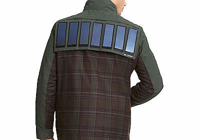 服から充電。トミー・ヒルフィガーからソーラーパネルジャケットが登場 | ギズモード・ジャパン