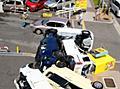 「これはひどい」大阪の駐車場、吹き飛んだ車が多数:朝日新聞デジタル