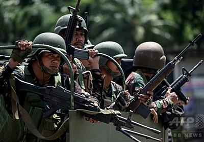 フィリピン南部で市街戦、海兵隊員13人死亡 米特殊部隊が支援 写真7枚 国際ニュース:AFPBB News