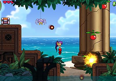 『シャンティ』シリーズ新作『Shantae and the Seven Sirens』正式発表。新たな変身魔法やカードシステムを駆使して南国の島を冒険 | AUTOMATON