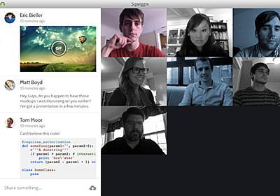 離れた空間なのにオフィスに一緒にいる雰囲気を作り出す「Sqwiggle」 – Social Design News