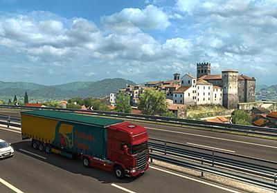 ヨーロッパを旅するトラックシム『Euro Truck Simulator 2』イタリアを拡張するDLC発売。フィレンツェからナポリまで、イタリアを横断 | AUTOMATON