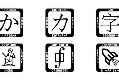 """Unicodeコンソーシアムが提供する""""最後の手段""""フォント「Last Resort Font」【レビュー】 - 窓の杜"""