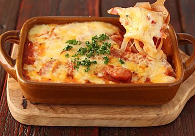 1/4カット白菜の半分はこれで消費「白菜とウインナーのトマトチーズ焼き」は白菜の旨味が凝縮中【Yuu】 - メシ通 | ホットペッパーグルメ